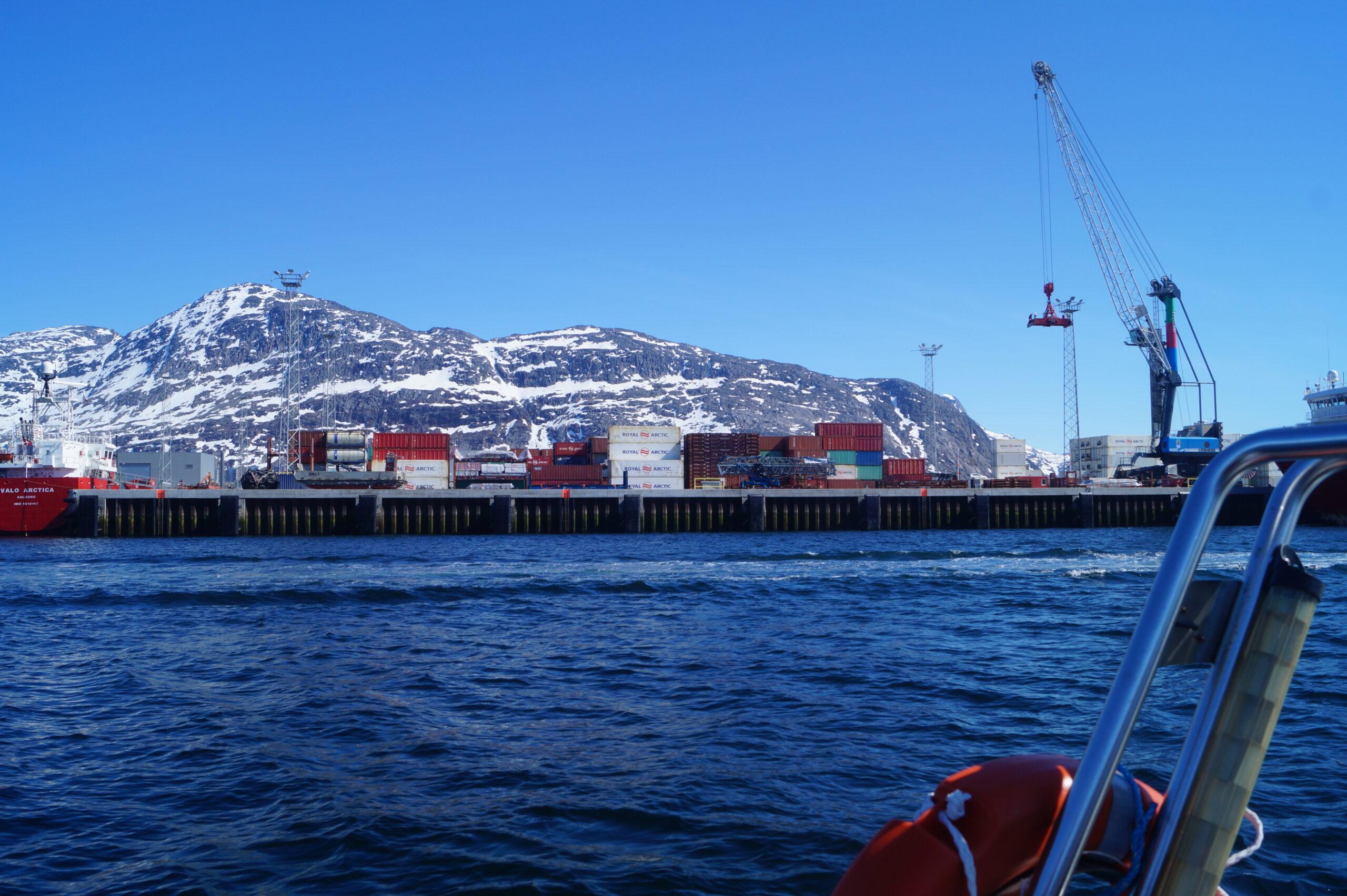 Fragtpriser til Grønland